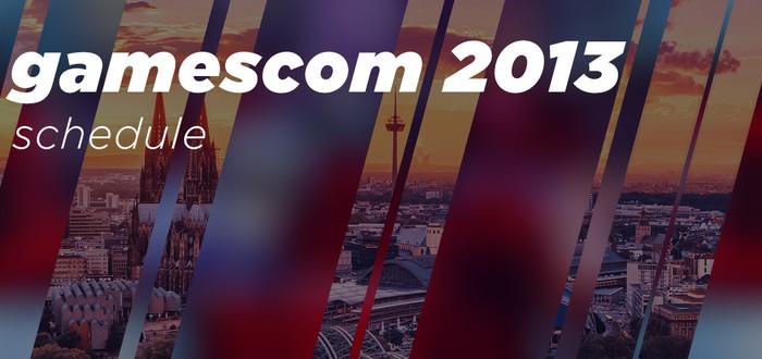 Gamescom 2013: расписание
