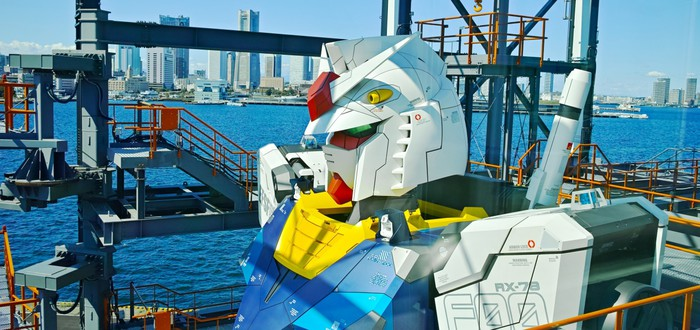 В Японии состоялась презентация гигантского Гандама