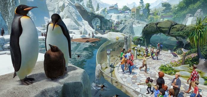 В декабре Planet Zoo получит гидов и набор Aquatic Pack с пингвинами