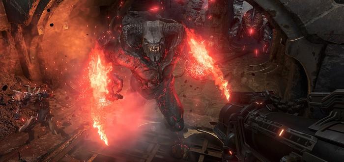 """В DOOM Eternal добавили мастер-уровень """"Кровавое супергнездо"""""""