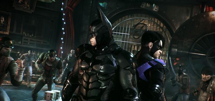 Rocksteady разблокировала аниме-скин в Batman: Arkham Knight