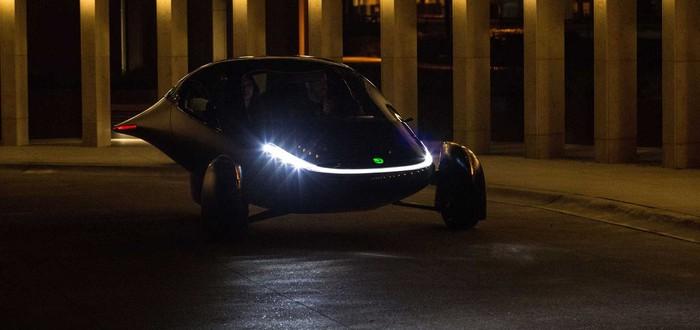 Представлен электромобиль на солнечных батареях, которому не нужна зарядка