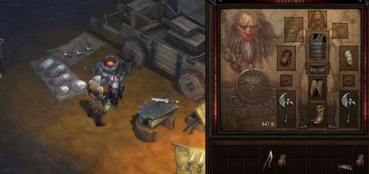 Скриншоты Diablo III: Ремесленник и Варвар