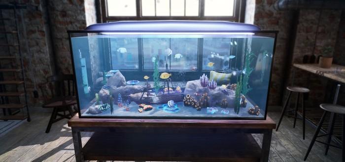 Симулятор домашнего аквариума Fishkeeper выйдет в 2021 году