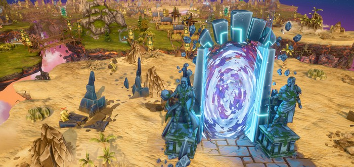 В Steam вышла бесплатная стратегия Nomads of Driftland