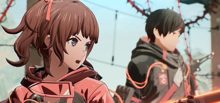 Главные герои, боссы и сражения в новом трейлере экшена Scarlet Nexus