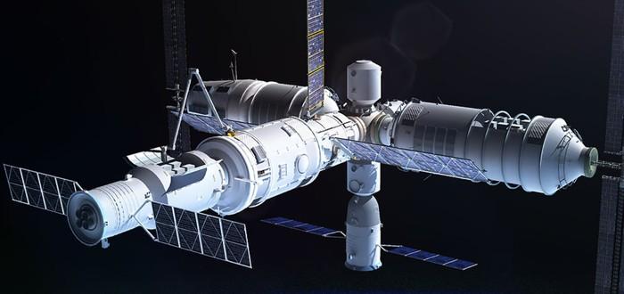 Новая российская орбитальная станция может быть построена на модульной системе