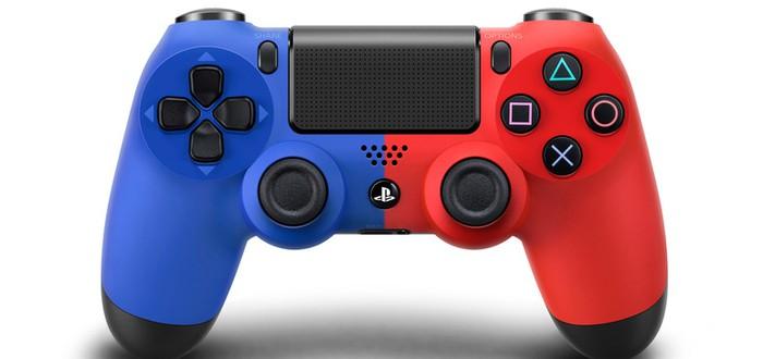 Альтернативные цвета DualShock 4: Голубая Волна и Красная Магма