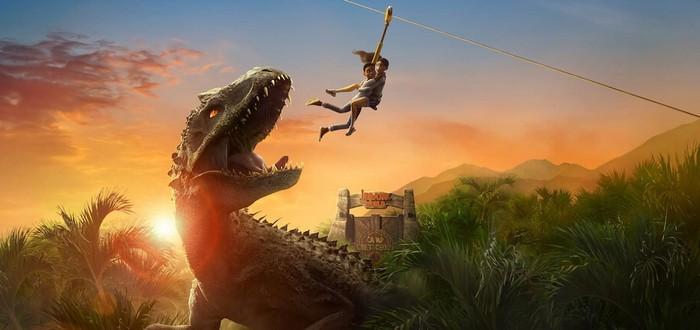 """Разрушенный остров, динозавры и другие выжившие в трейлере второго сезона """"Мир Юрского периода: Лагерь Мелового периода"""""""
