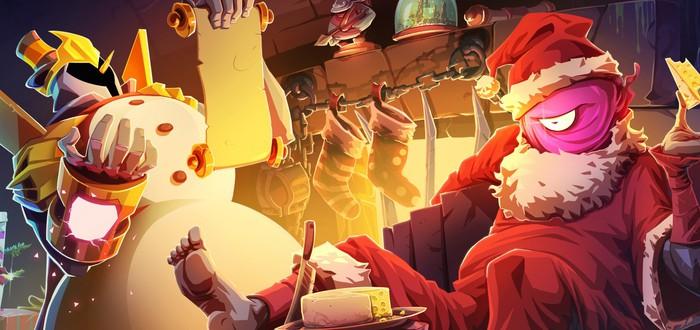 Для Dead Cells вышел патч с новогодними скинами, сыром и обновленной хворью