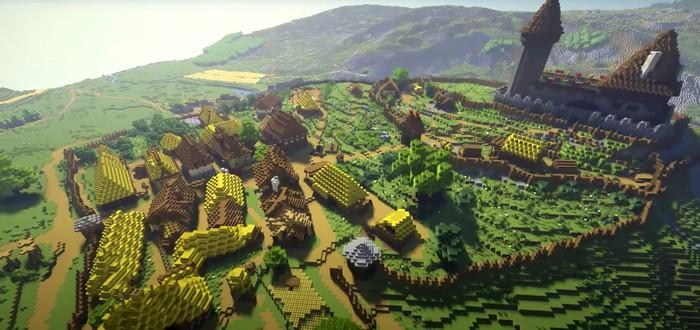 Энтузиасты воссоздают мир Kingdom Come Deliverance в Minecraft