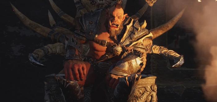 Строительство поселения орков в первом трейлере стратегии Orc Warchief