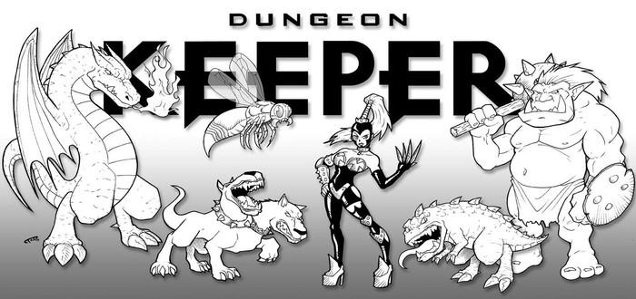 Перезапуск Dungeon Keeper для мобильных платформ