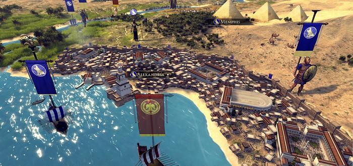 8 минут мультиплеерного геймплея Total War: Rome 2
