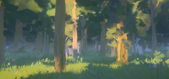 Философская прогулка по лесу в трейлере Sunlight