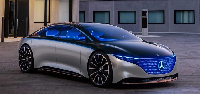 Mercedes-Benz представила 56-дюймовую цифровую панель для седана EQS