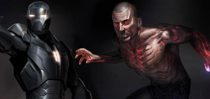 Уникальные концепт-арты Iron Man 3