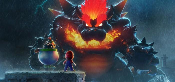 Битва гигантских Марио и Боузера в трейлере Super Mario 3D World + Bowser's Fury