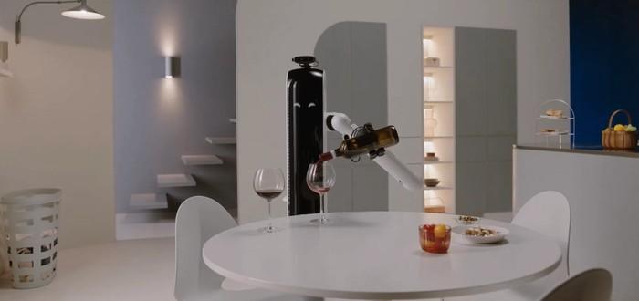 CES 2021: Samsung показала робота, который прибирается и наливает вино