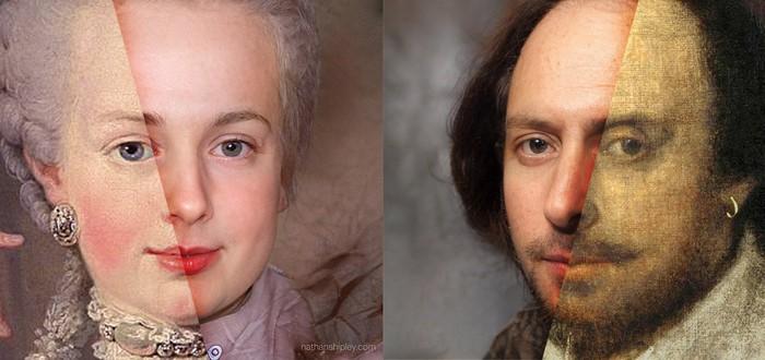 Картины известных людей превратили в реалистичные селфи при помощи ИИ