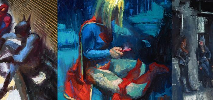 Art: Супергерои глазами импрессиониста