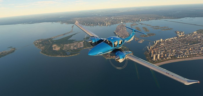Microsoft Flight Simulator может выйти на Xbox One