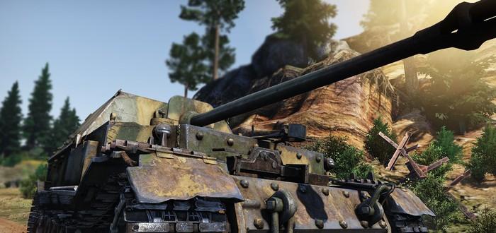Новые скриншоты наземной техники War Thunder