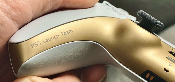 Вы не сможете купить бело-золотой контроллер DualSense — это эксклюзив для сотрудников PlayStation