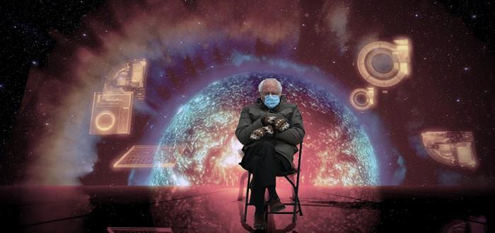 Мемы: Байден — геймер и сидящий Берни Сандерс