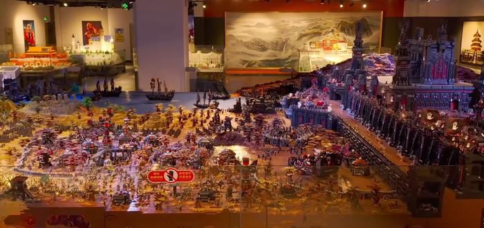 Энтузиасты создали потрясающую диораму из 150 миллионов кубиков LEGO