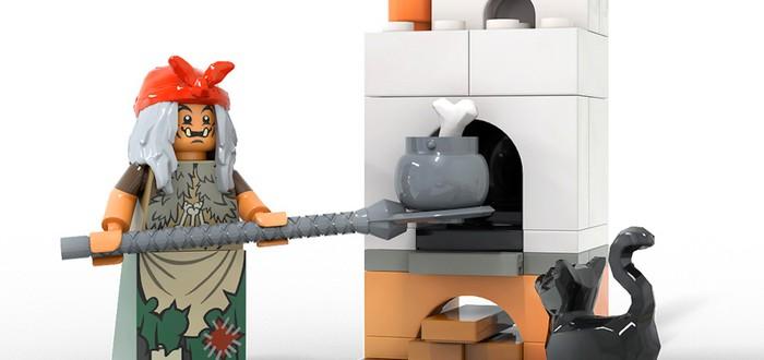 Избушка Бабы-Яги собрала 10 тысяч голосов на LEGO Ideas