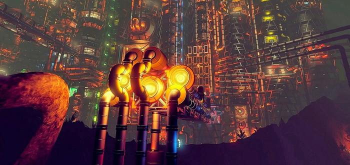 Игрок No Man's Sky построил город в стиле Восторга из BioShock