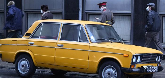 "СССР, ""Жигули"" и ""Москвич"" — первые фото со съемок фильма ""Тетрис"""