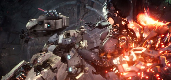 Девушка в обтягивающем костюме против роботов в первом трейлере и геймплее Project DT
