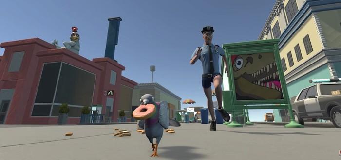 Революция и огнедышащие-голуби в трейлере Pigeon Simulator
