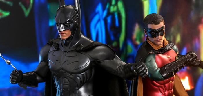 """Hot Toys показала фигурки Бэтмена и Робина по фильму """"Бэтмен: Навсегда"""""""