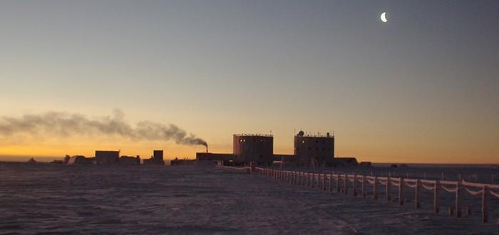 Random Science: рассвет в Антарктике