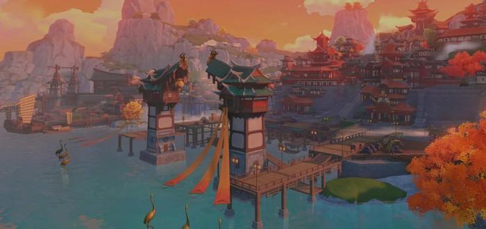 Энтузиасты сделали впечатляющую диораму Гавани Ли Юэ из Genshin Impact