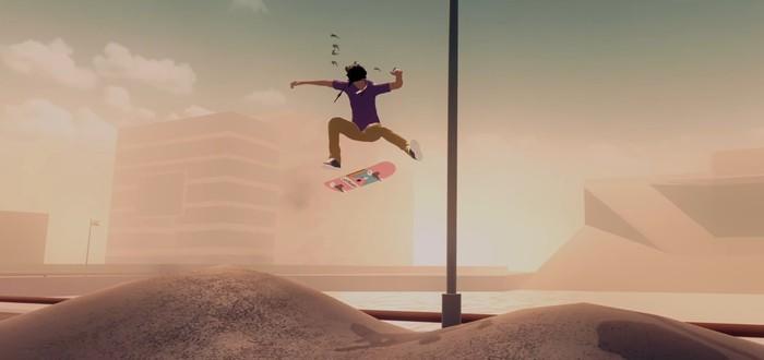 Большие трюки на скейтах в трейлере минималистичной аркады Skate City
