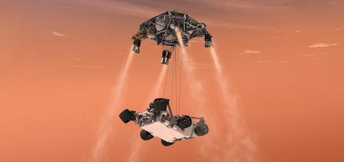 Как NASA посадит новый марсианский ровер — 6 шагов и 7 минут ужаса
