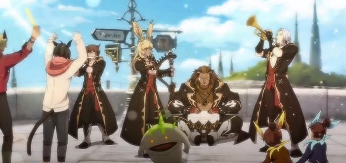Корейская реклама Final Fantasy XIV показывает, каким мог бы быть аниме-сериал по игре