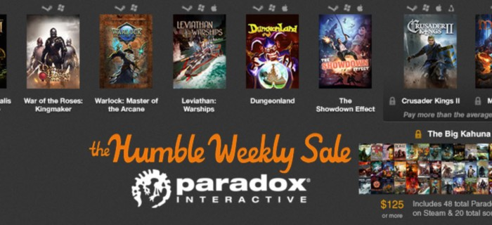 Новый Humble Bundle представляeт Paradox Games