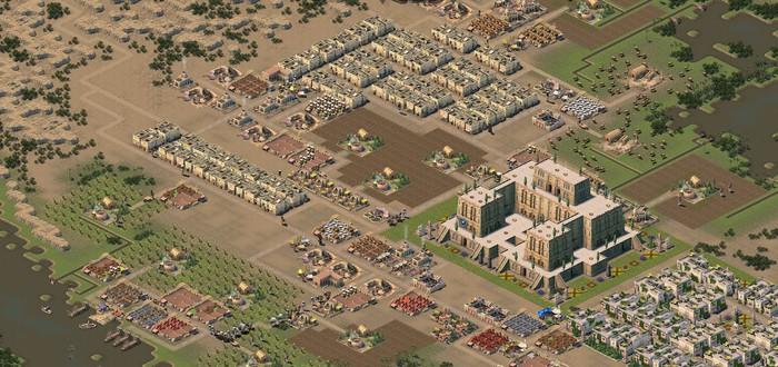 Развитие шумерской цивилизации в релизном трейлере градостроительной стратегии Nebuchadnezzar
