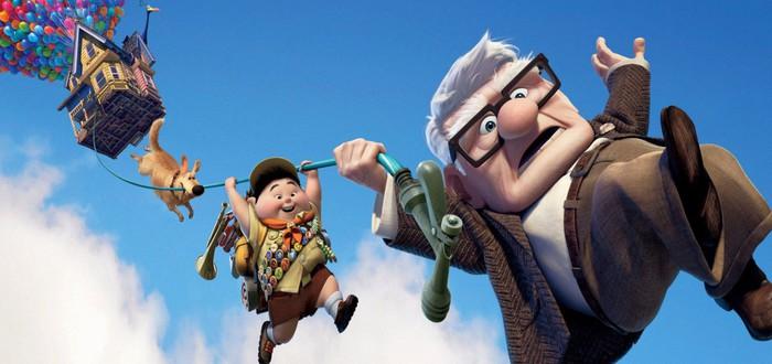 """Pixar выпустила версию мультфильма """"Вверх"""" в стиле аниме"""