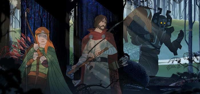 Скриншоты одиночной кампании The Banner Saga