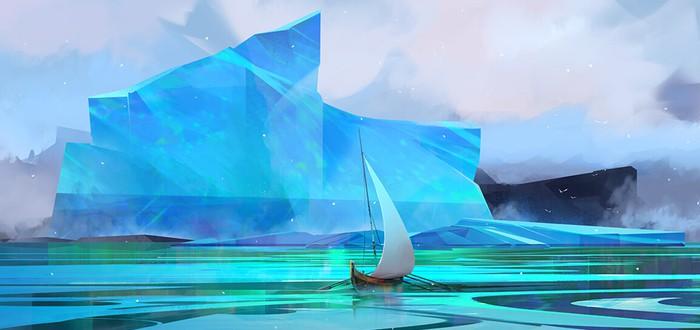 Нарисуйте айсберг и посмотрите как он поплывет при помощи этого сайта