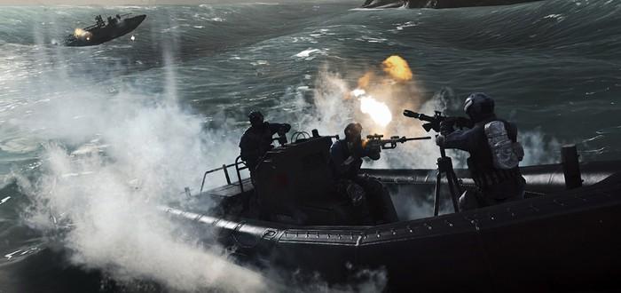 Час геймплея Battlefield 4 на карте Paracel Storm