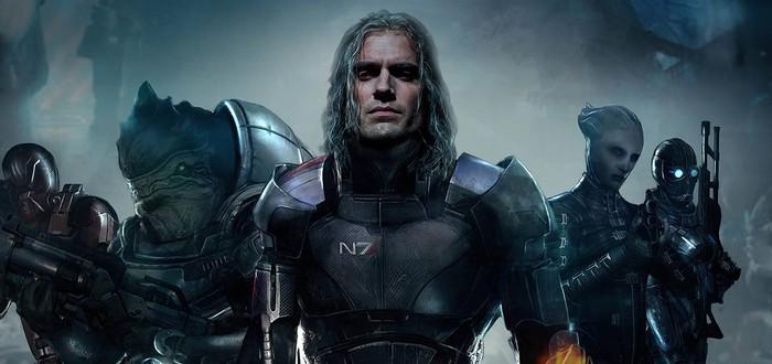 Генри Кавилл тизерит новый проект и читает про Mass Effect — что это может значить
