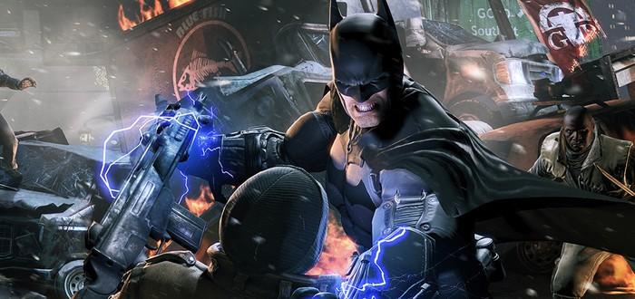 Захват движения для Batman: Arkham Origins