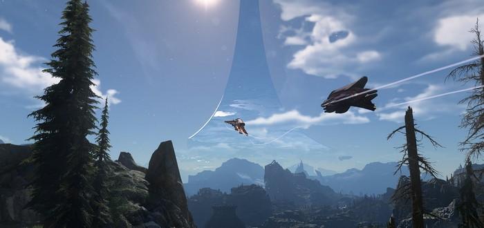Новые  детали игрового мира и скриншоты Halo Infinite